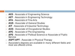 Associate degree guide